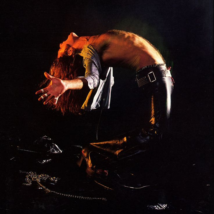 David Lee Roth Van Halen Album Cover Photoshoot