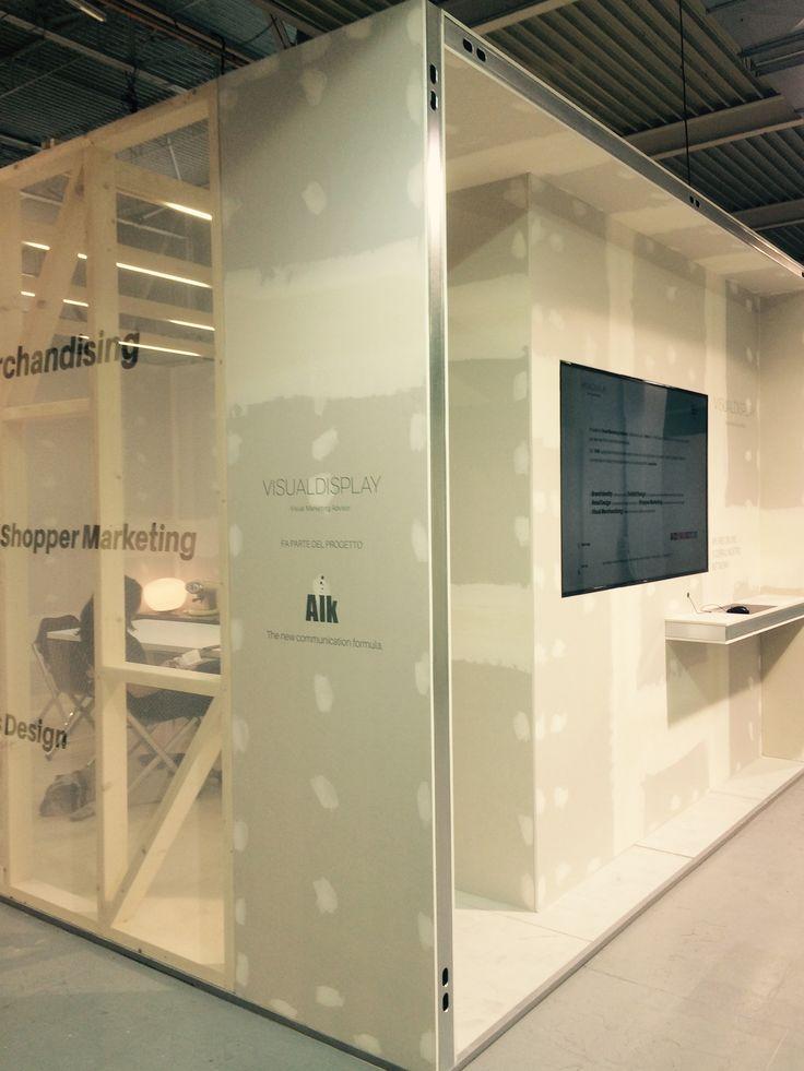 Stand Visual Display @shopexpo Milano SuperstudioPiù 2105
