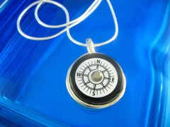 Even Designs Jewelry : lw compass necklace