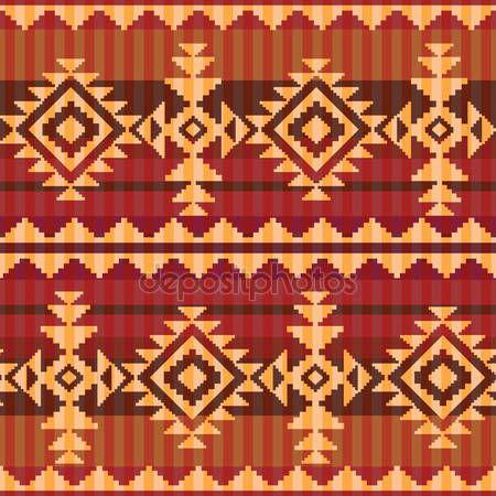 Herunterladen - Navajo Stil-Muster — Stockillustration #25908361