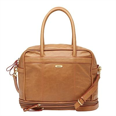 A travel tote to rival all others, this much-loved Mimco style features two expanding zip pockets so nothing gets left behind.