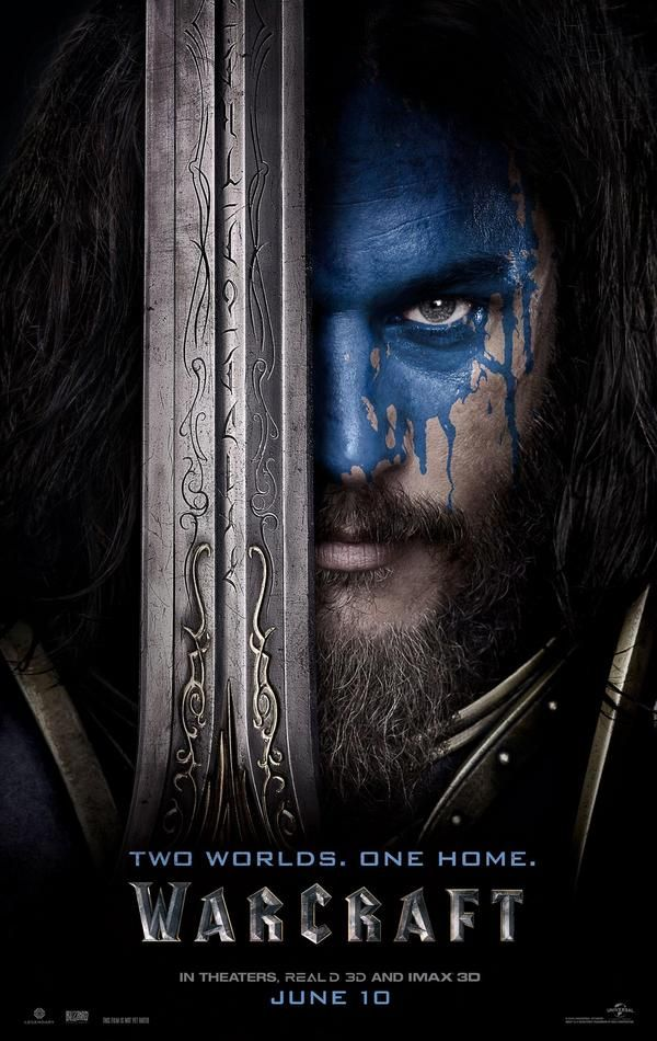 Warcraft Lothar Character Poster