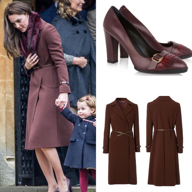 Kate is wearing her Hobbs 'Celeste' coat for the fifth time with her Tod's fringed pumps she debuted in Canada this year.