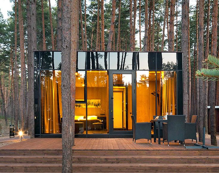 YOD Design Lab's guest houses disappear into the forest in Ukraine | Inhabitat - Sustainable Design Innovation, Eco Architecture, Green Building