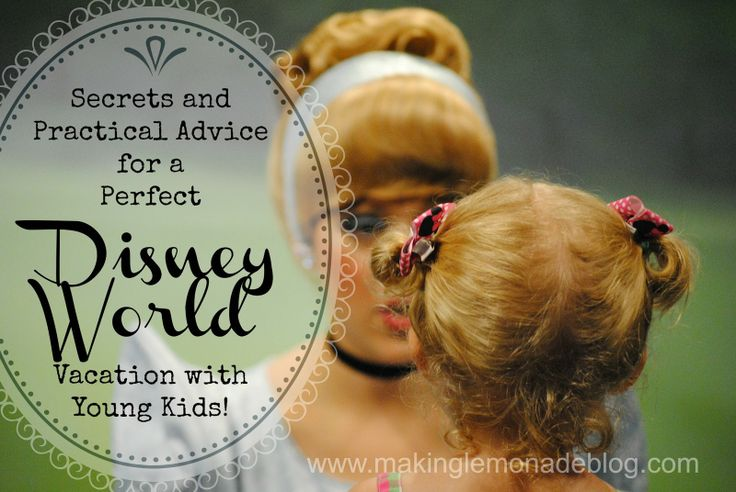 tips and tricks for visiting Disney World or Disney Land with Kids and Toddlers