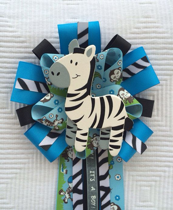 Safari Baby Shower Corsage: 86 Best Baby Shower Corsages Images On Pinterest