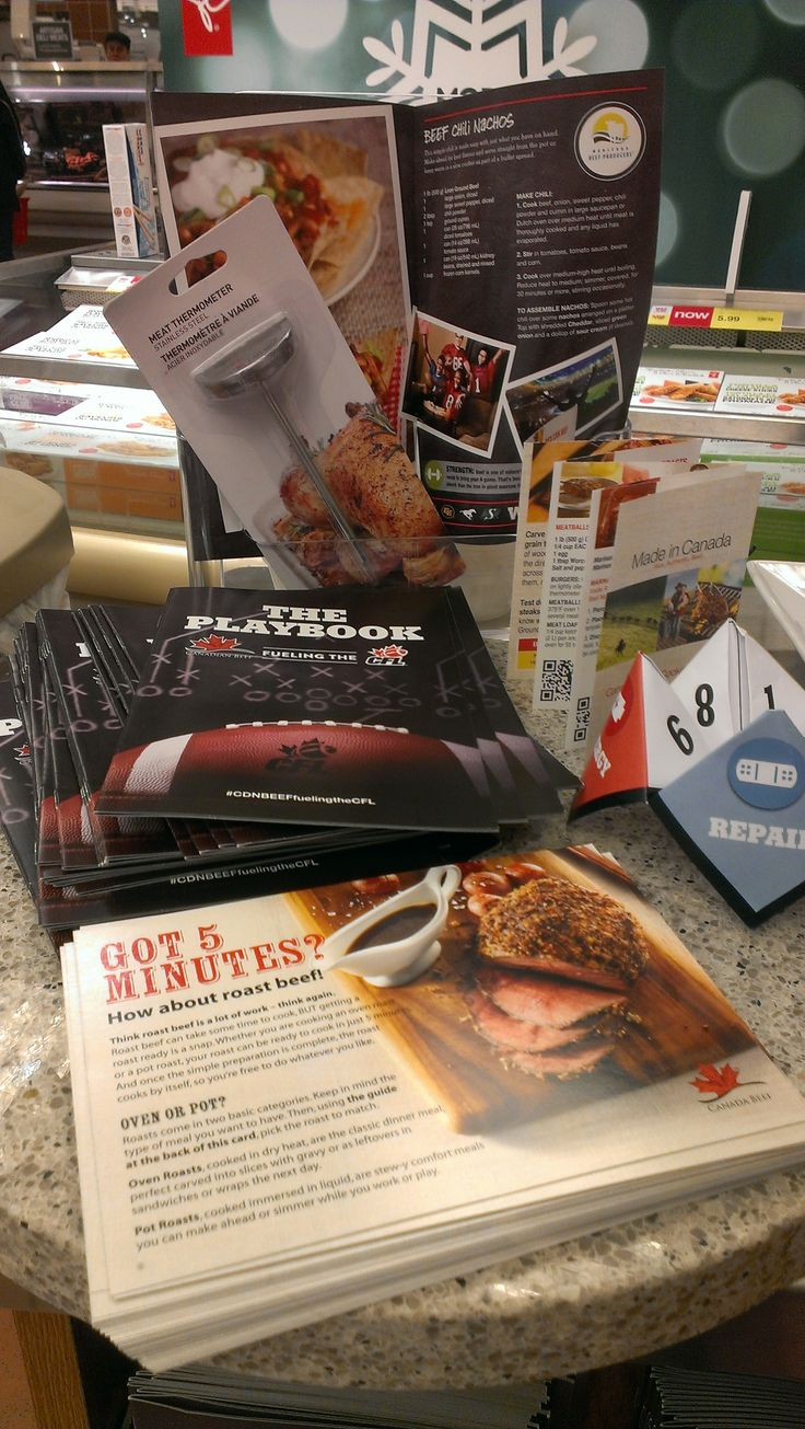 Loblaw's Dietitian Days November 2014 featuring Canadian Beef