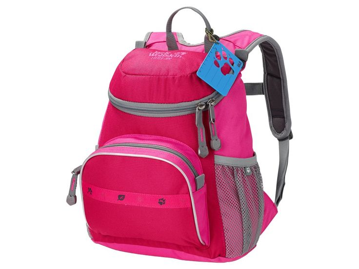 Jack Wolfskin LITTLE JOE Azalea Red - dětský batoh. Dětský batoh s funkcemi, které jsou snadno použitelné i pro mladší děti. Vhodný pro děti od tří let. Skvělá volba do mateřské školy.