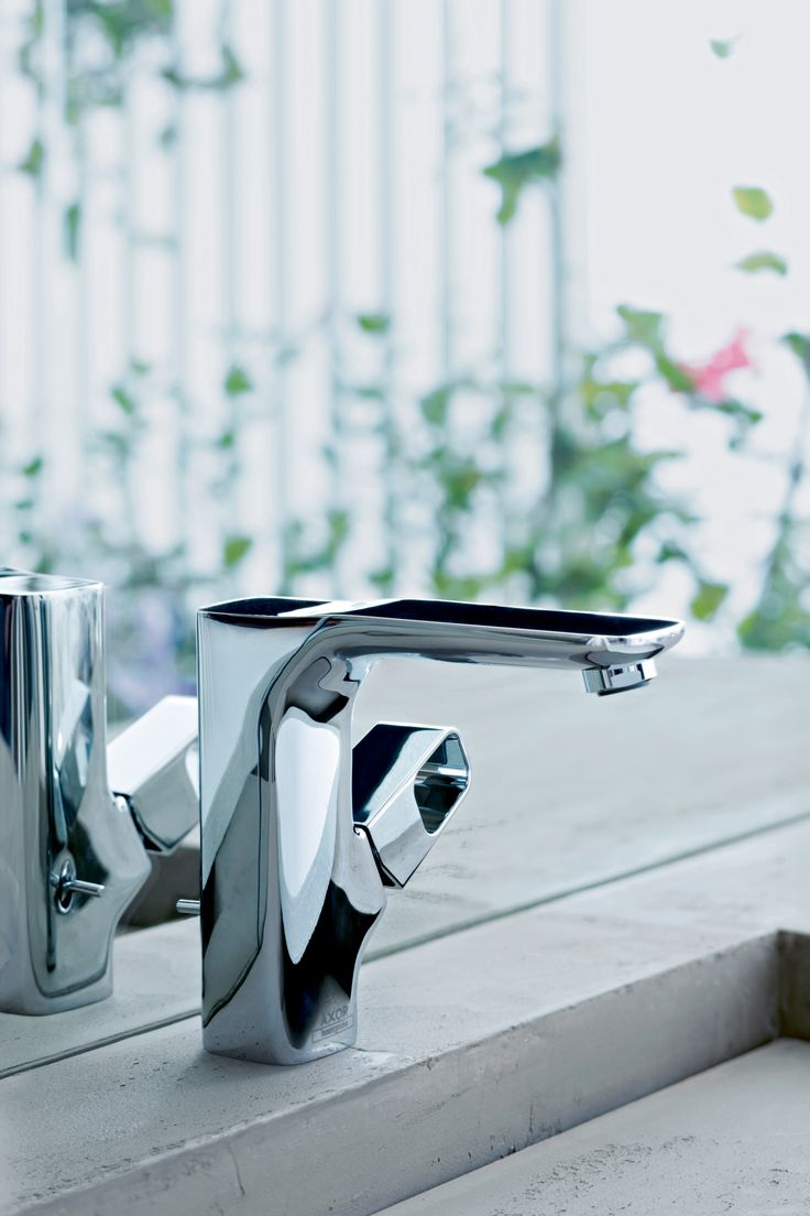Axor Urquola Single Lever Basin Mixer #luxurybathroom