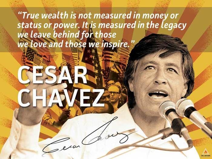 Cesar Chavez Poster Quote Labor Activist Education Art Print Quote Posters Cesar Chavez Bob Dylan Poster