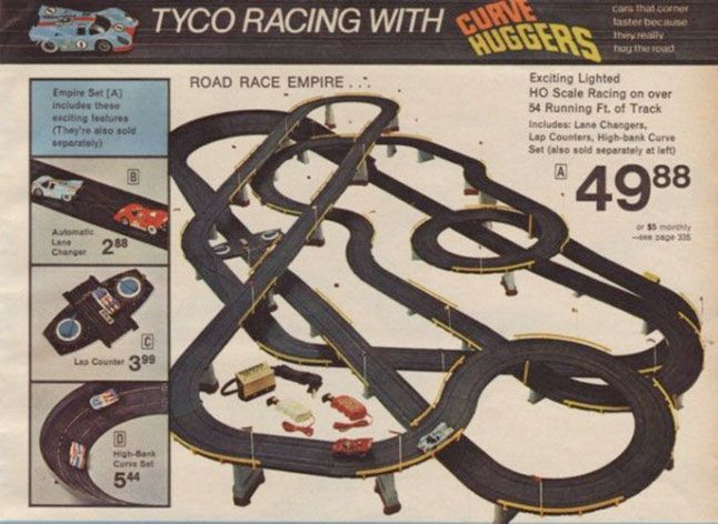 Tyco Electric Race Track