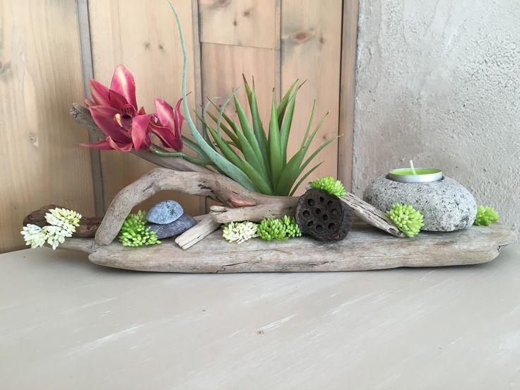 Accessoires de maison photophore en bois flotte et orchid 16478316 img 3131 j - Pinterest bois flotte ...