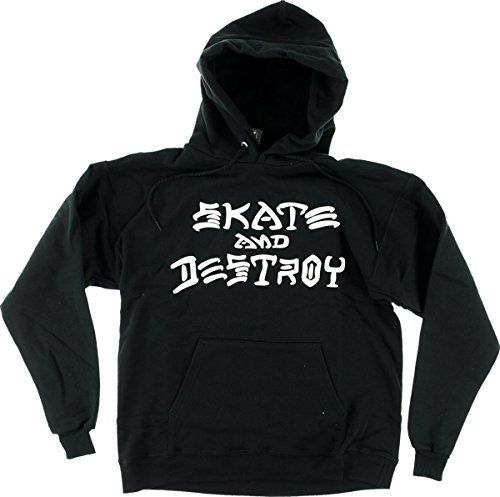 Thrasher Skate And Destroy Hood [Medium] Black