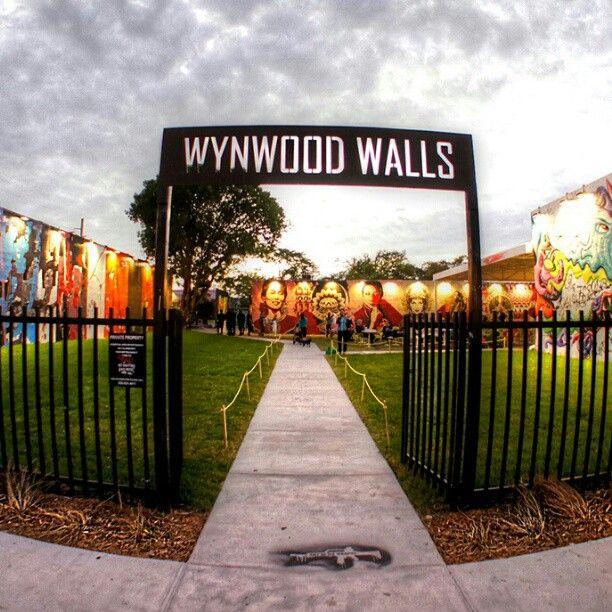 The Wynwood Walls in Miami, FL