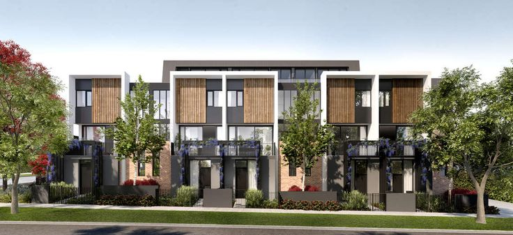 Affordable new town homes in coveted Finch St