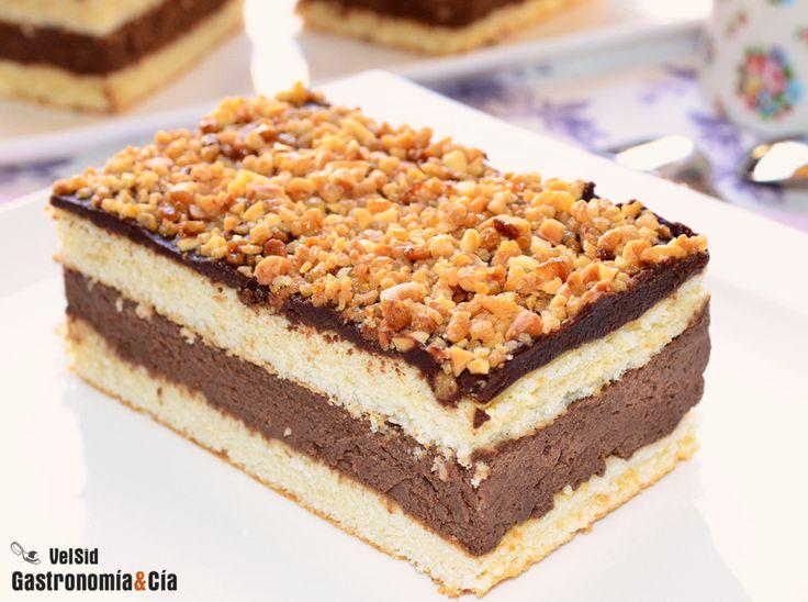 Tarta de trufa. Receta fácil  http://cincuentopia.com
