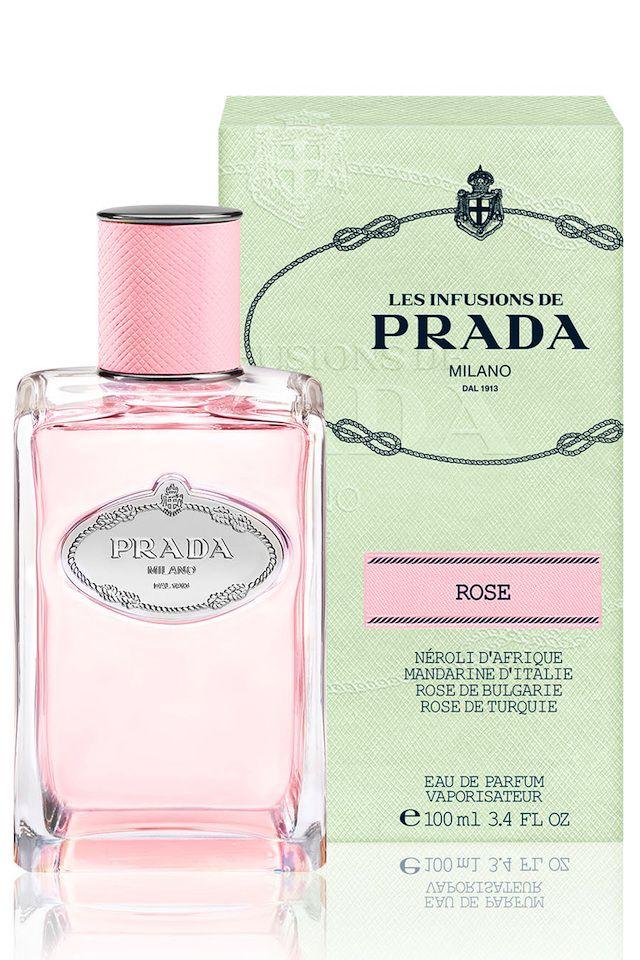 プラダの香水インフュージョン ドゥ プラダにローズの新作がお目見え