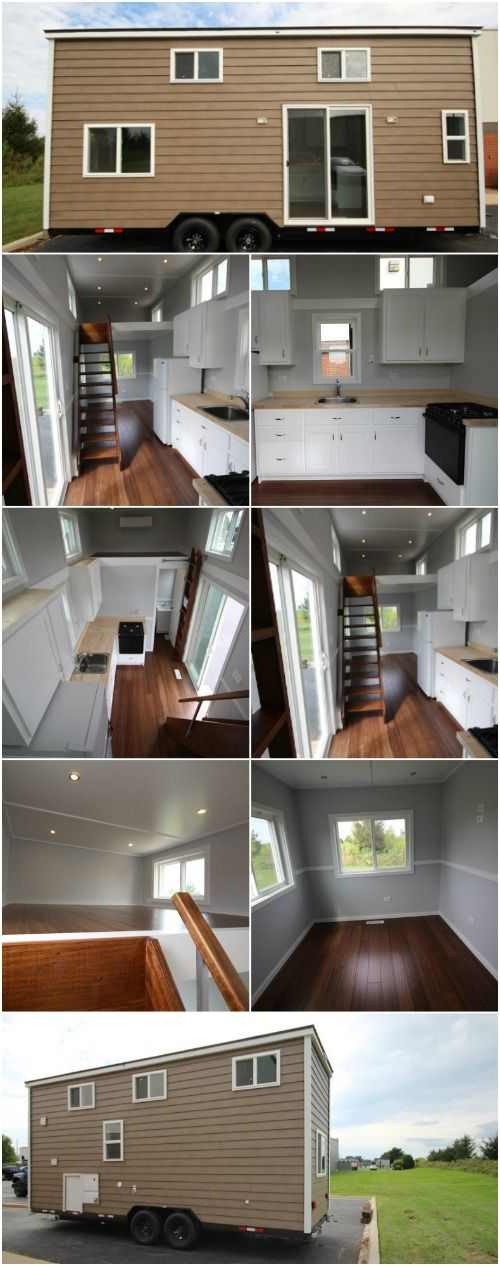 This Tiny House Has Amazing High-End Features and It's for Sale! - When Titan Tiny Homes builds a tiny house, they go above and beyond with features and amenities that you typically don't see in such a small space. One of the first things to note about this house is that it has steel siding! You may think you're looking at wood, but you'd be wrong. The company puts steel on all of their homes which is twice as durable and stronger than wood!
