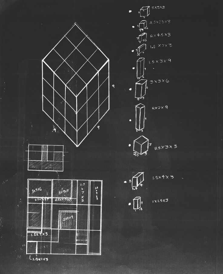 Cube Exercise Architecture Sketch Design Cube Arch