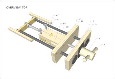 Creative Homemade Woodworking Vise Preview - YouTube