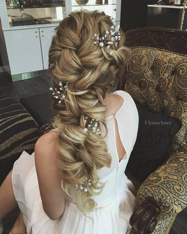 Ulyana Aster Long Bridal Hairstyles for Wedding_06 ❤ See More: http://www.deerpearlflowers.com/long-wedding-hairstyleswe-absolutely-adore/