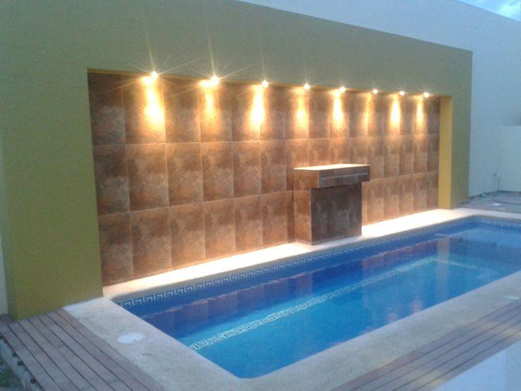 Casa Habitación - Iluminación alberca