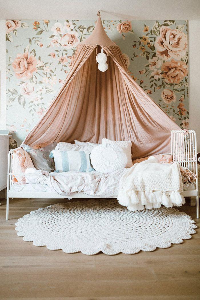 Girl Room Canopy Bed Toddler Girl Room Girls Bed Canopy Girls Bedroom