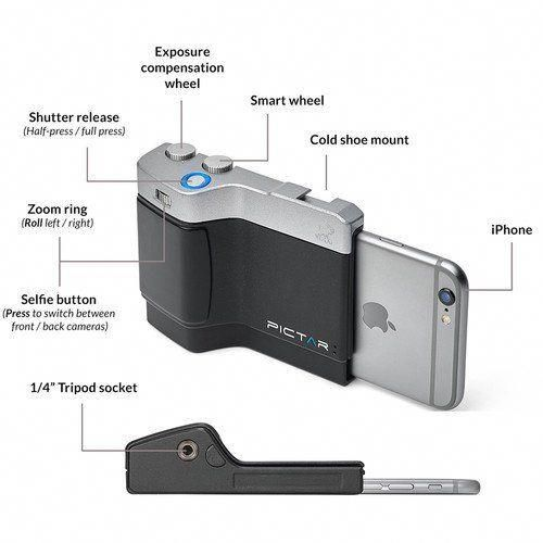 Turn Your IPhone Into A DSLR Camera With This Device