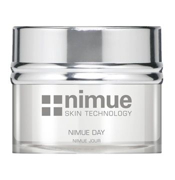 Environmentally Damaged Range Product 3: Nimue Day. A light textured day cream formulated with excellent barrier and restoration properties. Contains Alpha Hydroxy Acids and phytoceuticals. 50ml. Nimue Skin Technology.