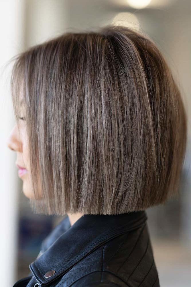 20 Modern Hairstyles For Short Hair Hair Styles One Length Hair Thick Hair Styles
