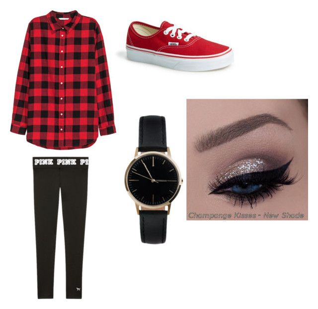 """""""Flannel Friday's"""" by mkuhlman on Polyvore featuring Vans and Freedom To Exist"""