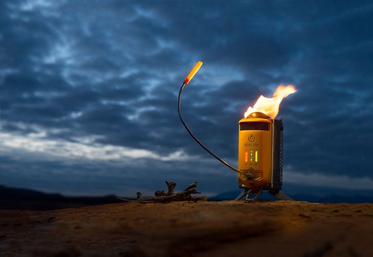 BioLite CampStove 2 with FlexLight – Novelty Gift Ideas