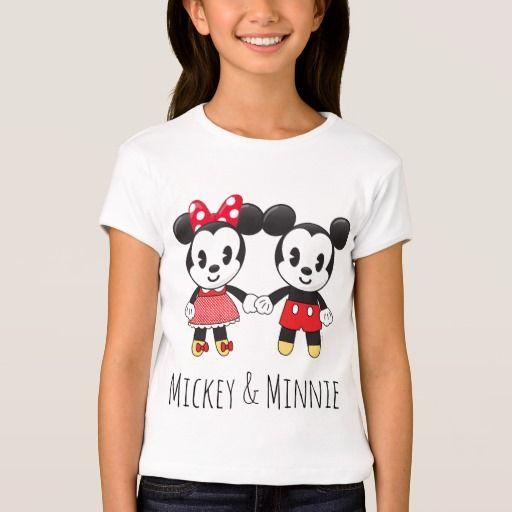 Mickey & Minnie Holding Hands Emoji 2