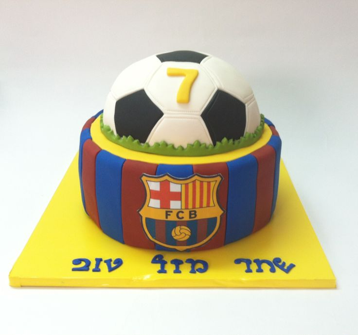 עוגת בארסה FC Barcelona Cake