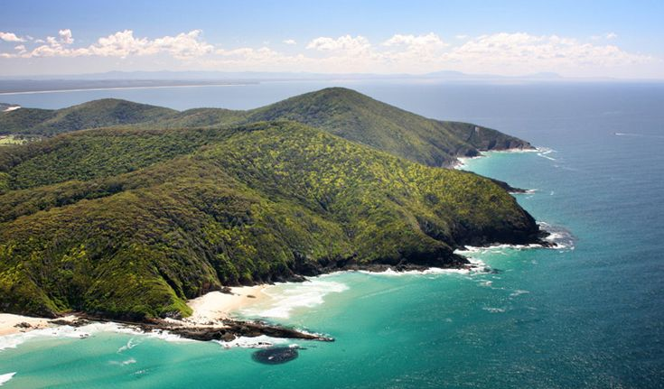 Cape Hawke lookout, Booti Booti National Park. Photo: Shane Chalker