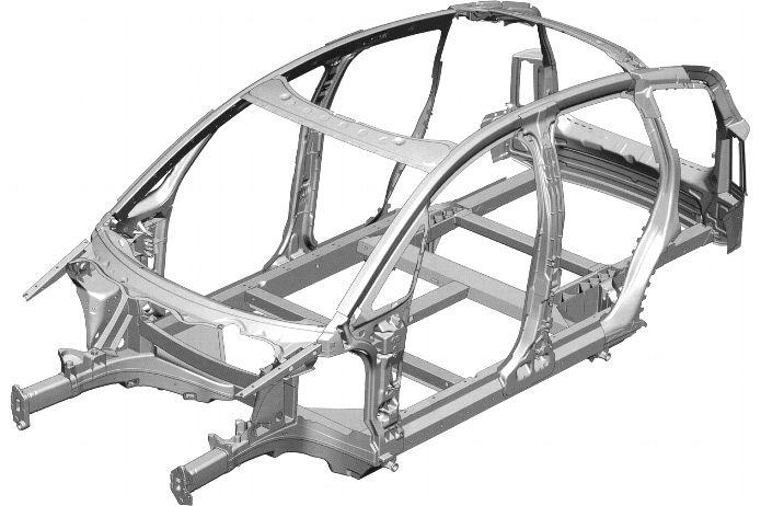 Audi Space Frame - Audi A2 Museum