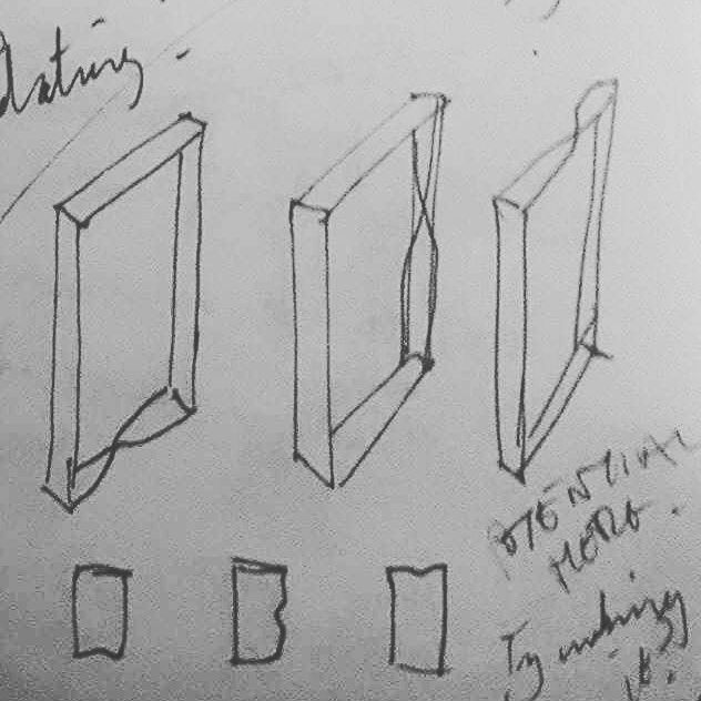 ...working at it (hi res detail) Sketchbook detail 2017  Ink  #contemporaryart #conceptualart #contemporarydrawing #conceptualdrawing #sketch #sketchbook #jodyhamblin #wip #kunst