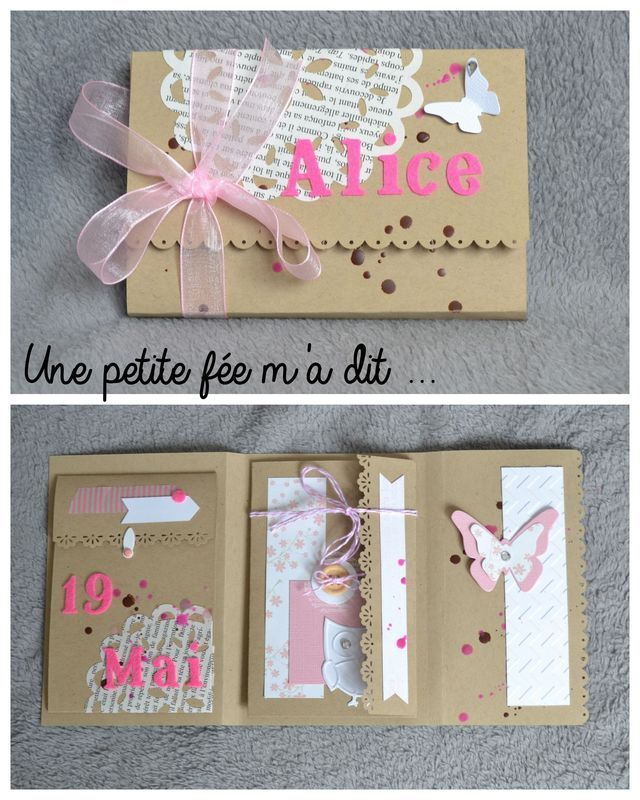 Alice - Mini album porte-feuille