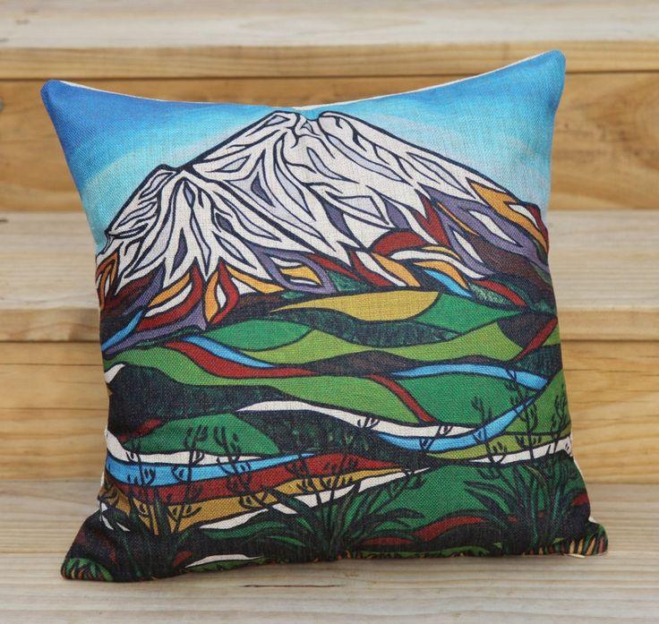 """Taranaki"" Cushion Cover."
