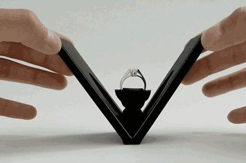 This Nifty Engagement Ring Box Could Change Proposals Forever
