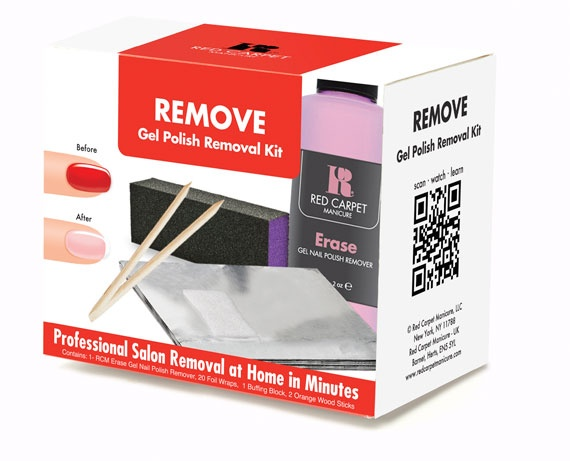 At Last: At-Home Gel Manicure Removal Kit
