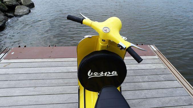 1967 yellow Vespa 50S for sale | Your Vespa