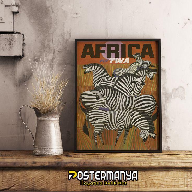 Afrika Zebralar Vintage Poster ve Kanvas Tabloları Postermanya'da. #evdekorasyonu #dekorasyonfikirleri #dekorasyonönerileri #postermanya #poster #afiş #tablo #duvardekoru #wall #homedesign #sevgiliyehediye #posters #tasarım #dekorasyon #kanvas #kanvastablo #hediye #sanat #art #dekor #vintage #afrika #zebra #travel