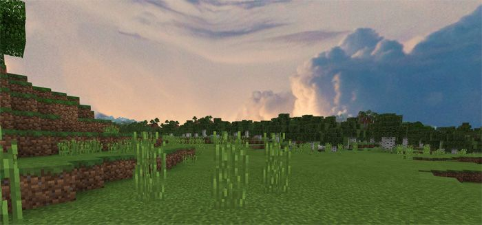 A realistic skybox is an impressive change in this texture pack. It means the sky will be more realistic in a surprising way. A small minus of the game is that there is no movement in the sky. If you are looking for a good method to capture screenshots, you should put this pack in your... https://mcpebox.com/beautiful-cubemaps-pack-minecraft-pe/