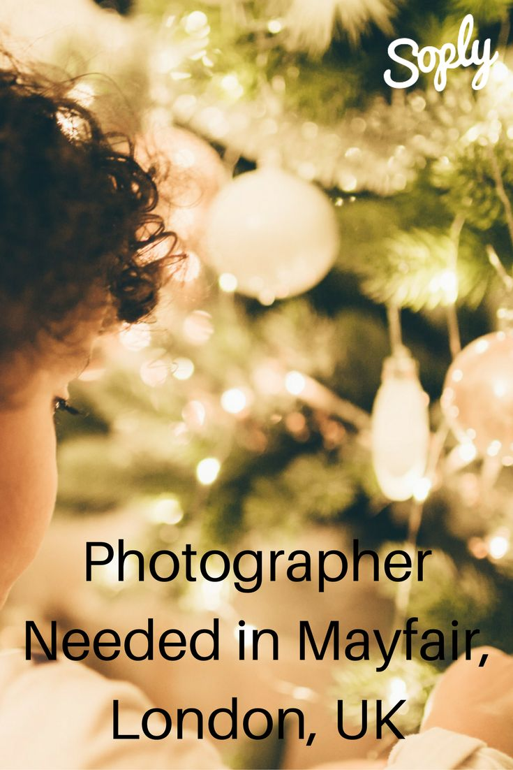 #Photographer needed for a #Christmas #carols #concert in #Mayfair #London# UK. See the #photography job and apply by clicking the pin!