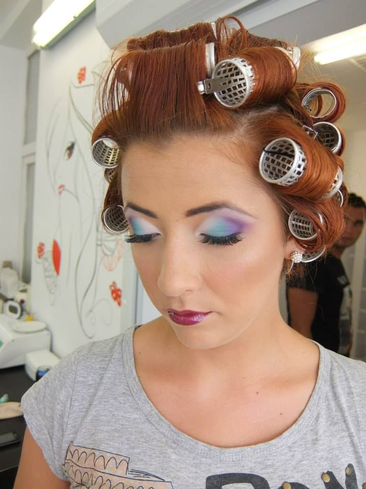 sissy boy in hair rollers 306 best images about rollers on pinterest roller set
