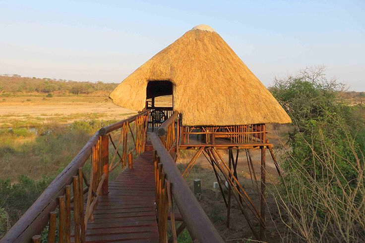Bona Ngwenya Lodge  Bush Lodge (Self Catering) (GAME NEARBY) In Marloth Park, Kruger National Park & Lowveld, Mpumalanga Click on link for more info http://www.wheretostay.co.za/bonangwenyalodge/  Bona Ngwenya Lodge with it's private game viewing tower is situated 20 meters from the Kruger Park fence, and offers the best view of the Crocodile River and all the game that comes from Kruger Park on a daily basis to drink.
