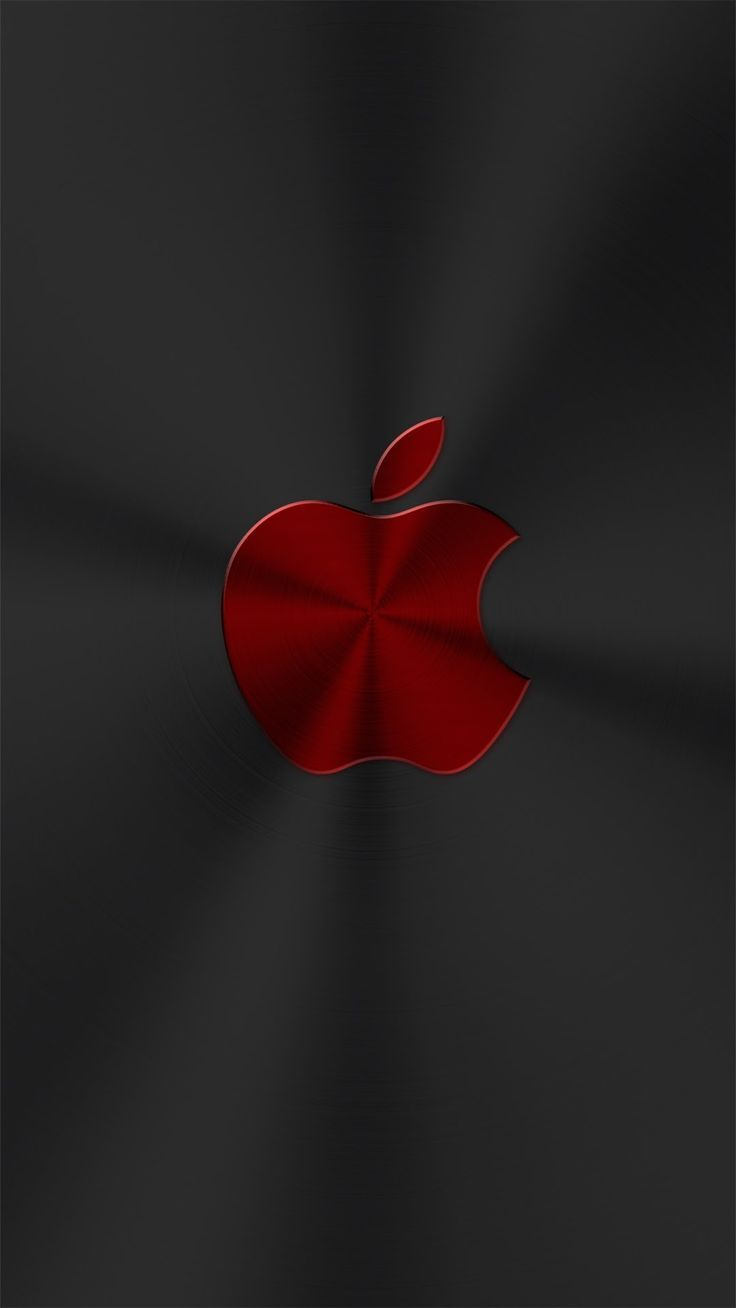 Red Chrome Apple 4k Apple Wallpaper Iphone Apple Logo Wallpaper Iphone Iphone Homescreen Wallpaper