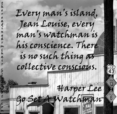 Book Quote from the novel Go Set A Watchman by Harper Lee