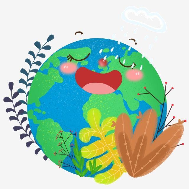Dia De La Tierra Verde De Dibujos Animados, Clipart Del Día De La Tierra, El Día De La Tierra, Hora Terrestre PNG y PSD para Descargar Gratis   Pngtree   Día de